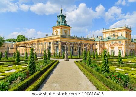 Paleis Warschau Polen koninklijk kasteel Stockfoto © FER737NG