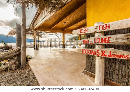 Bussaglia beach on west coast of Corsica Stock photo © Joningall