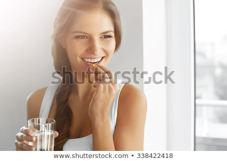 Woman On The Pill Stock photo © cteconsulting