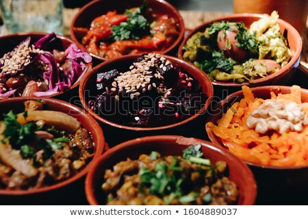Moroccan Salad Stock photo © kentoh