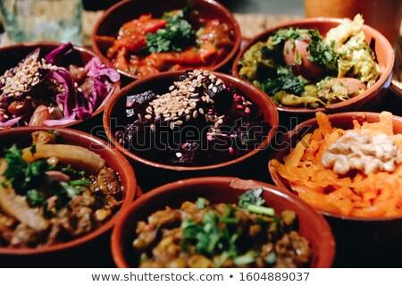 keuken · fastfood · restaurant · markt · voedsel · restaurant · lunch - stockfoto © kentoh