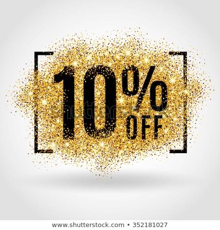 off 10 percent stock photo © tang90246