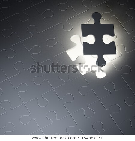 Dreams - Jigsaw Puzzle with Missing Pieces. Stock photo © tashatuvango