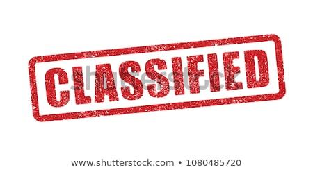 Classified Stock photo © fuzzbones0