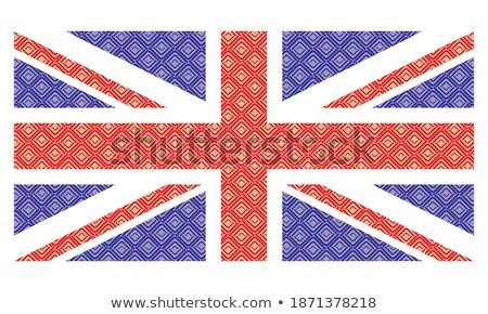 Reino Unido bandeira vetor bandeira Foto stock © TRIKONA