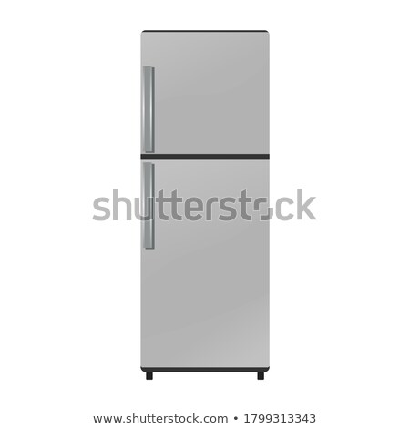 Closed Refrigerator Stock photo © AndreyPopov