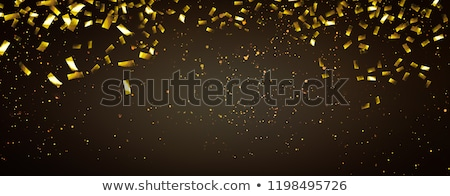 Színpad fények konfetti szalag illusztráció fesztivál Stock fotó © lenm