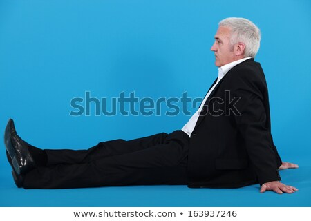 Işadamı zemin iş adam takım elbise erkek Stok fotoğraf © IS2