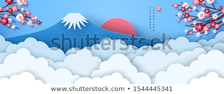 Blue Fuji Stock photo © craig