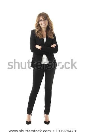 Tam uzunlukta görmek kadın iş kadını iş kadın Stok fotoğraf © monkey_business