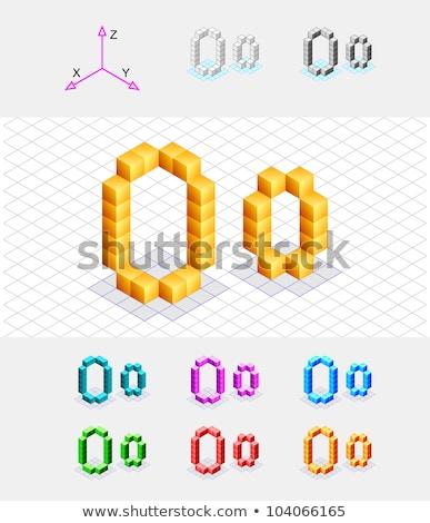 Сток-фото: куб · сетке · 3D · 3d · визуализации · иллюстрация