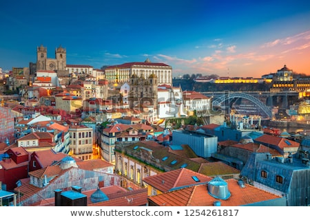 View Of Cathedral And Roofs In Porto Portugal Stock photo © diego_cervo