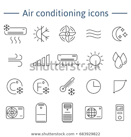 Climate System Cleaning Vector Thin Line Icon Stock photo © pikepicture