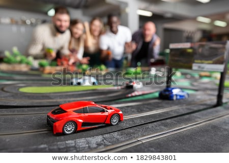 Stock photo: Slot Cars