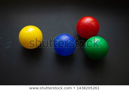 Red, Green and Blue spheres Stock photo © Balefire9