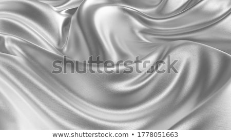 silver fabric Stock photo © Nneirda