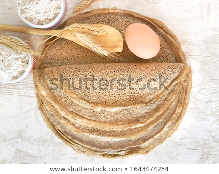 crepe and wheat Stock photo © M-studio