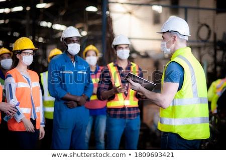 ipar · vezető · üzletember · vezető · verseny · férfi - stock fotó © lightsource