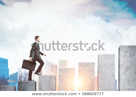 Business Bargraph Stock photo © vectomart