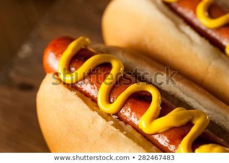 rundvlees · hond · verkopen · straat · restaurant - stockfoto © stocker