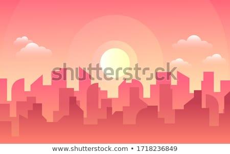 Morning Silhouettes Stock photo © suerob