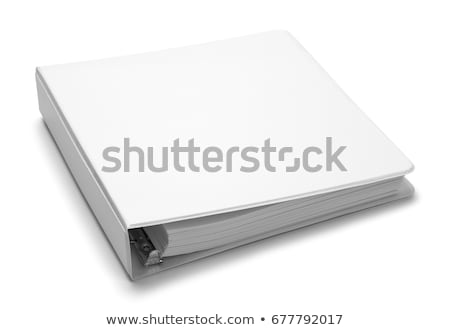 file isolated on a white stock photo © michaklootwijk