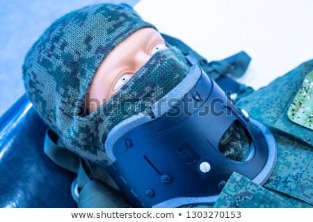 Retrato homem cirúrgico dor mão Foto stock © HighwayStarz