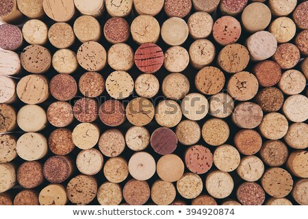 Old wine corks arranged in a background pattern Stock photo © ozgur