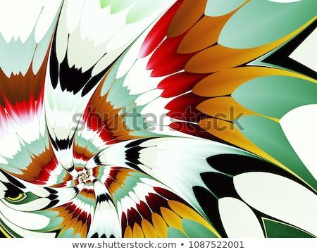 absztrakt · fraktál · textúra · izzó · terv · nagyszerű - stock fotó © jarin13
