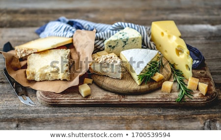 сыра · питание · ветчиной · свежие · гранат · яблоко - Сток-фото © maxsol7