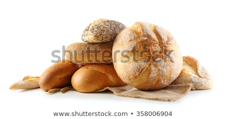 The loaf of bread is isolated on a white background Stock photo © frescomovie