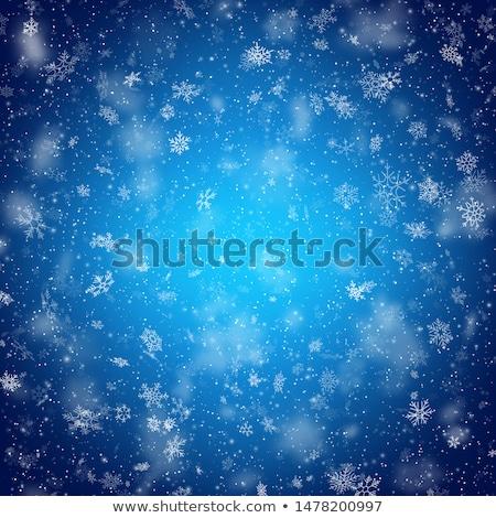 winter · eps · 10 · sneeuwvlokken · Rood · geschenk - stockfoto © beholdereye