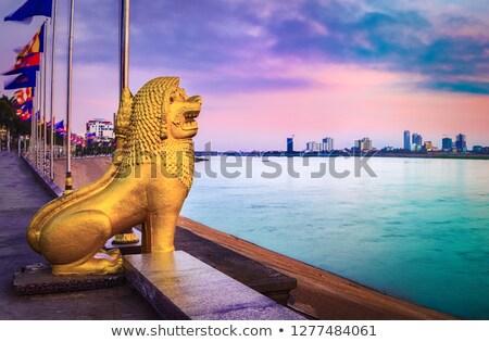 Phnom Penh in Cambodia Stock photo © prill