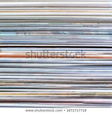 Magazine Stacked Full Frame Stock photo © Frankljr