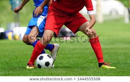 サッカー サッカー 地上 草 ストックフォト © wavebreak_media