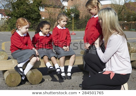A teacher telling a student off Stock photo © monkey_business
