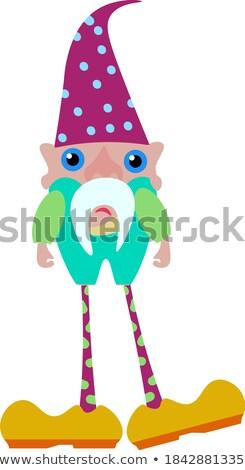 Sad Cartoon Teen Fairy Stock photo © cthoman