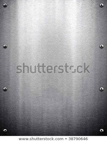 Sheet metal spikes Stock photo © boggy