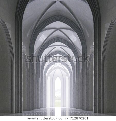 インテリア 教会 実例 礼拝 神 祈り ストックフォト © artisticco