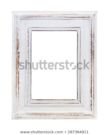 Wood frame carved Renaissance designs Stock photo © nuttakit