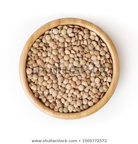 Lentils in a bowl Stock photo © AGfoto