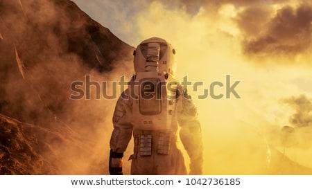 Space traveler explores planet Stock photo © jossdiim