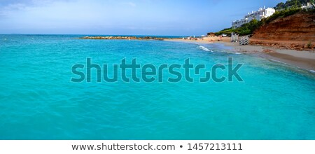 Stock photo: Ibiza Calo de s Alga beach Santa Eulalia