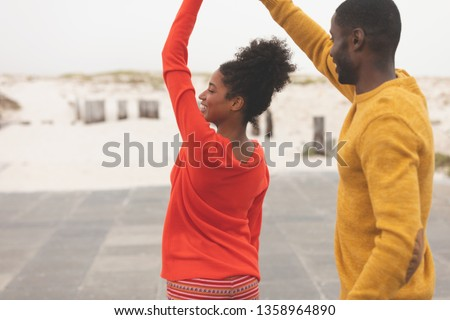 Görmek mutlu romantik çift Stok fotoğraf © wavebreak_media