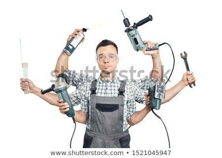craftsman spraying Stock photo © photography33
