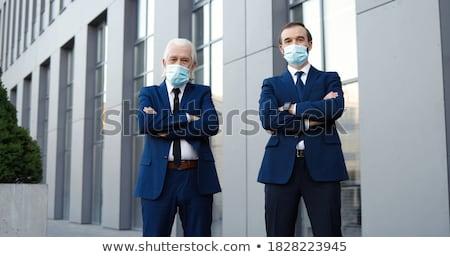 bonito · senior · masculino · cidadão · posando · estilo - foto stock © stockyimages