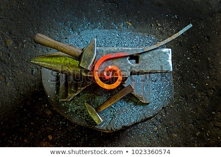 Forge , tools, metal Stock photo © russwitherington