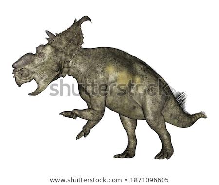 Dinozor geç 3d render 3D vermek Stok fotoğraf © AlienCat
