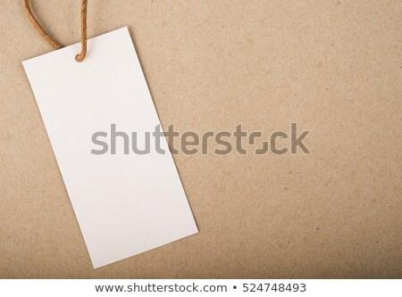 öreg címke papír háttér klasszikus antik Stock fotó © susabell