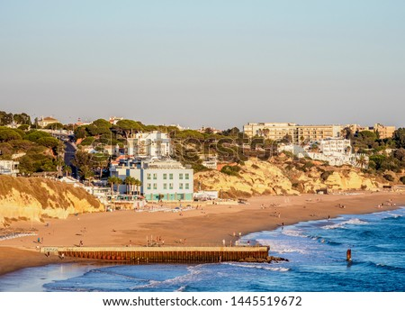 Португалия пляж небе домой лет рок Сток-фото © Photooiasson